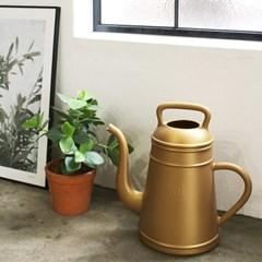 디자인 물조리개 룽고 - 골드 (12L 대용량 물뿌리개)