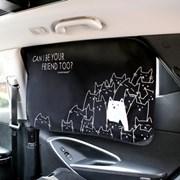 차량용 햇빛가리개-캣