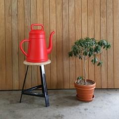 디자인 물조리개 룽고 - 레드 (12L 대용량 물뿌리개)