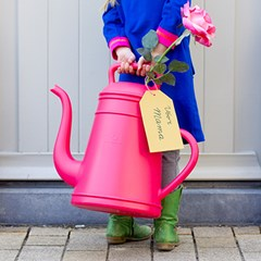 디자인 물조리개 룽고 - 핑크 (12L 대용량 물뿌리개)
