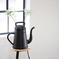디자인 물조리개 룽고 - 블랙 (12L 대용량 물뿌리개)