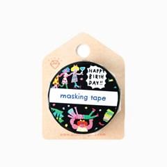 [AIUEO] Masking tape katanuki - night party