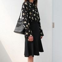 Simple flare skirt