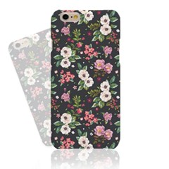 Dark Grey Cute Flower (HF-126A) Hard Case