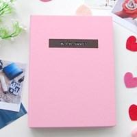 제이로그 커플다이어리(커플포토앨범)-로맨틱 핑크