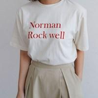노만 클래식 티셔츠
