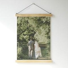 [주문제작] 우드행거 패브릭 포스터 (M사이즈)