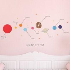 태양계 우주 행성 스티커