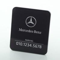 Benz 주차번호판