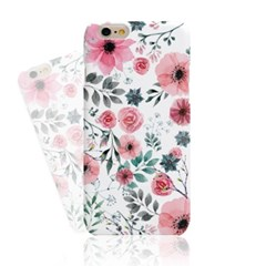 Rex Pink Watercolor Flower (HF-127A) Hard Case