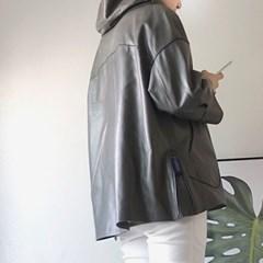 [양가죽] 손 벌룬 자켓