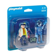 플레이모빌 듀오팩-로봇과 과학자(6844)