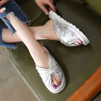 kami et muse Over ribbon soft slippers_KM17s124
