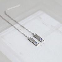 사파이어 드롭 E (silver925)