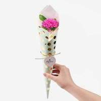 [인디고샵] 감사해요 딥핑크 카네이션 비누꽃한송이 (1set)