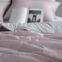 키코 핑크 60수 아사면 점프차렵침구(Q)