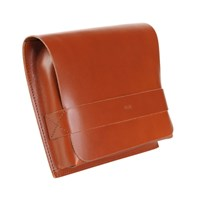 Large Case Meeting Pocket Cognac