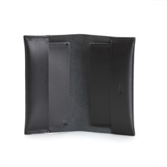 Jan Receipt Wallet Black