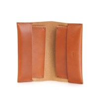 Jan Receipt Wallet Cognac