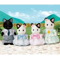 실바니안패밀리 5181 턱시도 고양이 가족