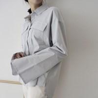 빅 포켓 셔츠 (3colors)