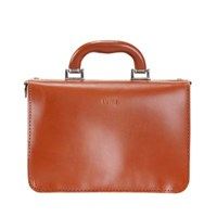 Miki Small Postman Bag Cognac