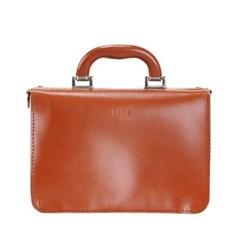 Miki Small Postman Bag Cognac