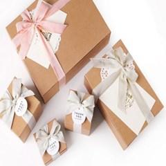 모던 크라프트 선물상자-5 (2개)
