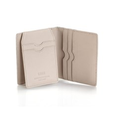 Paula Simple Card Wallet Navy/Blue Taupe