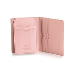 Paula Simple Card Wallet Mint/Blush