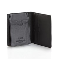 Paula Simple Card Wallet Black/Black