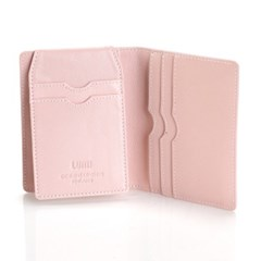 Paula Simple Card Wallet Baby Blue/Baby Pink