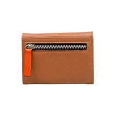 ASA Card Wallet Beige/Orange
