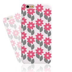 Cute Simple Pink Flower (HF-133C) Hard Case