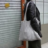 [haku.haru] heimish stripe ecobag