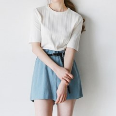 Golgi half sleeve knit