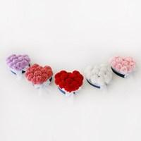 비누꽃 카네이션 러블리 하트 박스