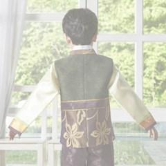 [한예빔] 올리브알찬 HB-5012 아동한복/남아한복