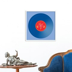 LP 메탈 액자 - rock