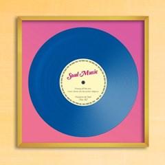 LP 메탈 액자 - soul music