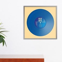 LP 메탈 액자 - blue note