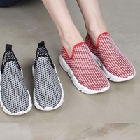 kami et muse Net pattern tall up sneakers_KM17s140