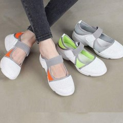 kami et muse Velcro banding mash sneakers_KM17s138