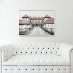 메탈 빈티지 레트로 사진 소품 포스터 액자 Castle