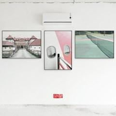 메탈 빈티지 여행 사진 인테리어 액자 비행기 창문
