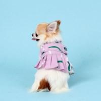 지렁이원피스 DUMMY WORM DRESS [PINK]