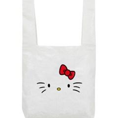 [Hello Kitty] Kitty Face Market Bag(White)_(528961)