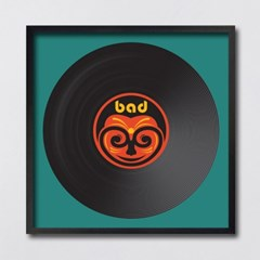 LP 메탈 액자 - bad