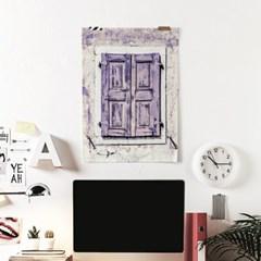 패브릭 포스터 F028 바란스 커튼 프렌치 윈도우 no.4