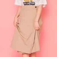 건빵 먹고 싶어 cotton Skirt